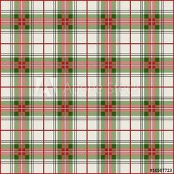 Obraz na płótnie canvas trzyczęściowy tryptyk szkocki kratkę