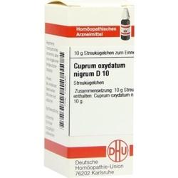 Cuprum oxyd nigr. d 10 globuli