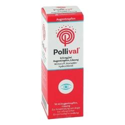 Pollival 0,5 mgml augentropfen lösung