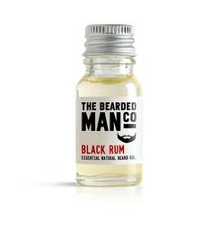 Bearded man co - olejek do brody czarny rum - black rum 10 ml