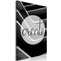 Obraz - create 1-częściowy pionowy