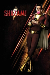 Shazam - plakat filmowy