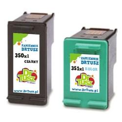 Tusze Zamienniki 350 XL + 351 XL do HP komplet - DARMOWA DOSTAWA w 24h