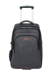 Plecak na kołach american tourister at work na laptop 15,6 - szarypomarańczowy