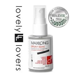 Innowacyjny płyn powiększający penisa - lovely lovers maxilong spray innovative formula 50ml