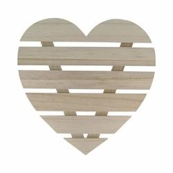 Drewniane SERCE 30x30 cm - rękodzieło