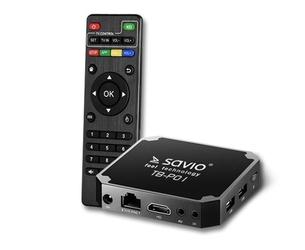 Smart tv box savio premium one - szybka dostawa lub możliwość odbioru w 39 miastach