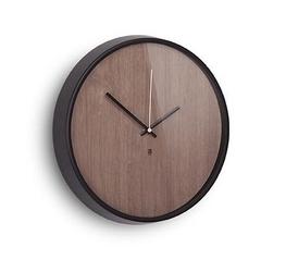 Fornirowany zegar ścienny madera