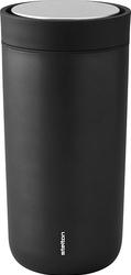 Kubek termiczny stalowy To Go Click 0,4 l czarny metallic