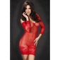 Ażurowa czerwona sukienka chilirose
