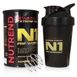 Nutrend n1 pre workout 510 przedtreningówka shaker gratis wysyłka 24h