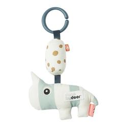 Zawieszka dzwoneczek nosorożec  done by deer - niebieska