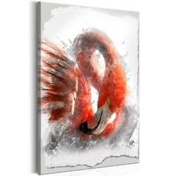 Obraz - czerwony flaming