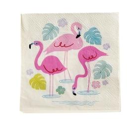 Serwetki koktajlowe 20 szt., flamingo bay, rex london - flamingo bay