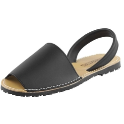 Czarne sandały vogue carla 550 cozabuty