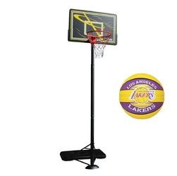 Zestaw kosz do koszykówki master przestawny + piłka spalding nba lal