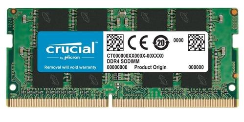 Crucial pamięć ddr4 sodimm 4gb3200 cl22 sr x8