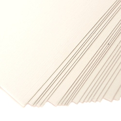 Karton ozdobny płótno 230g a4 biały 20 szt. - bia - 20 sztuk