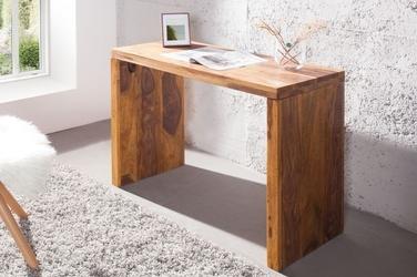 Drewniane biurko makassar 100 cm