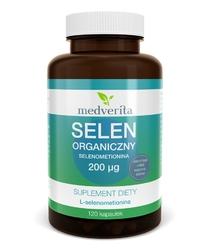 SELEN ORGANICZNY L-Selenometionina 200µg - 120 kapsułek