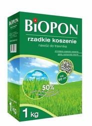 Biopon, nawóz granulowany do trawnika rzadkie koszenie, 1kg