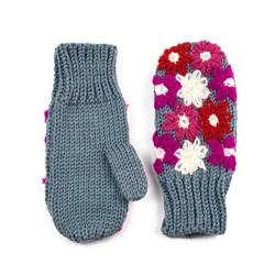 Rękawiczki naszywane różowe - RÓŻOWE