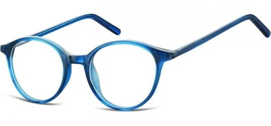 Oprawki zerówki korekcyjne lenonki unisex sunoptic ac23d ciemny niebieski