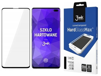 Szkło hardglass max 3mk czytnik linii do samsung galaxy s10 plus black