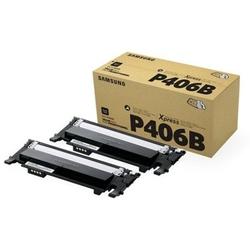 Tonery Oryginalne Samsung CLT-P406B SU374A Czarne dwupak - DARMOWA DOSTAWA w 24h