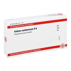 Kalium carbonicum d 6 ampullen
