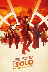 Solo: A Star Wars Story - plakat z filmu