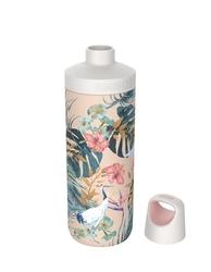 Butelka termiczna kambukka reno insulated 500 ml - paradise flower - beżowy || wielokolorowy