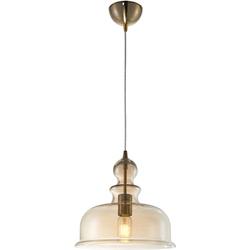Lampa bursztynowy klosz nad stół do kuchni, jadalni tone maytoni p001pl-01bz