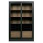 Woood :: james cabinet wood black fsc