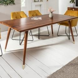 Drewniany stół mystic living  160x90 cm