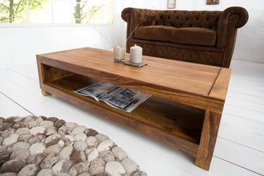 Drewniana szafka rtv madeira