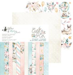 Papier Cute  Co. 30,5x30,5 cm - zestaw