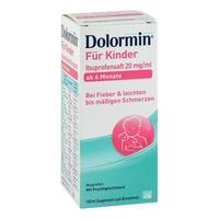 Dolormin dla dzieci, sok z ibuprofenem 20 mg1ml suspensja
