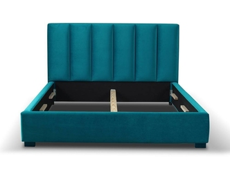Tapicerowane łóżko do sypialni marcus 140x200 cm