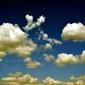 Fototapeta białe obłoki na niebie fp 1649
