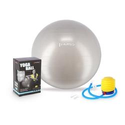 Piłka gimnastyczna yb01 65 cm szara - hms