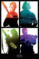 Star wars the force awakens rebelianci - plakat