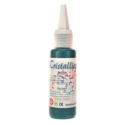 Cristallicpaint 50 ml - zielony ciemny - ZIELCIE