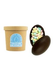 Czekoladowa bomba ciemna z piankami marshmallow - gorąca czekolada z kubkiem prezent na wielkanoc