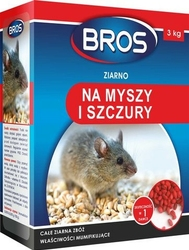 Bros, ziarno na myszy i szczury, 3kg