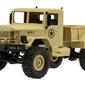 Zdalnie sterowany samochód rc wojskowy pustynny