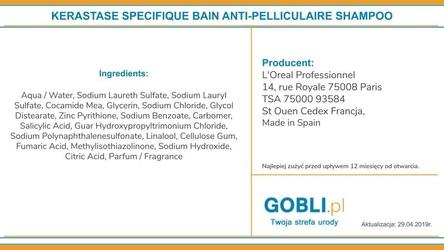 Kerastase specifique bain anti-pelliculaire kąpiel przeciwłupieżowa 1000ml