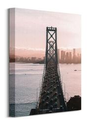 Most w san francisco - obraz na płótnie