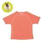 Koszulka z krótkim rękawem splashfun uv 50+ - peach 6mc