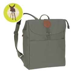Lassig green label plecak dla mam z akcesoriami adventure backpack olive
